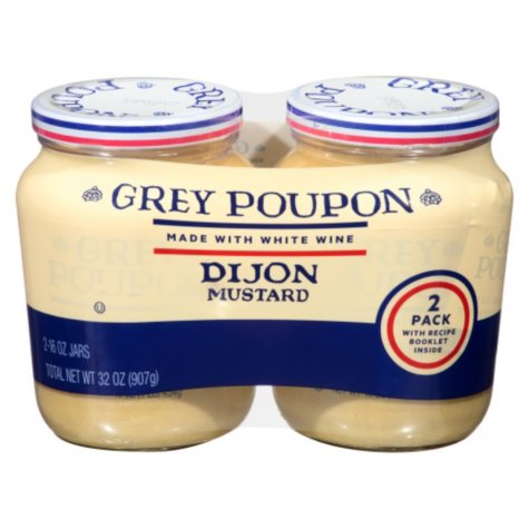 Grey Poupon Dijon Mustard (16 oz., 2 pk.)