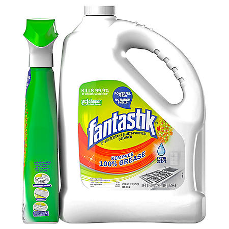 Fantastik with Spray Bottle (1 gal. jug, 32 oz. spray bottle)