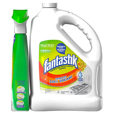 Fantastik with Spray Bottle (1 gal. jug, 32 oz. spray bottle)
