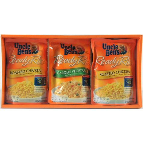 Uncle Ben's Ready Rice Chicken and Vegetable Variety Pack - 8.8 oz. - 6 pk.
