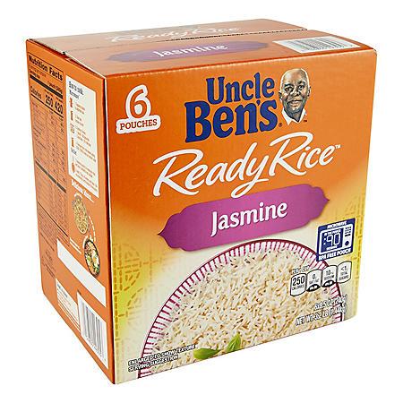 Uncle Ben's Jasmine Ready Rice (8.5 oz., 6 pk.)
