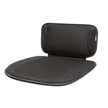Aerocore Lumbar Pillow & Seat Cushion Set, Black