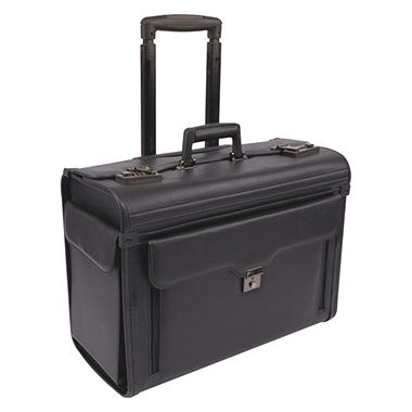 Bond Street Computer/Catalog Case On Wheels