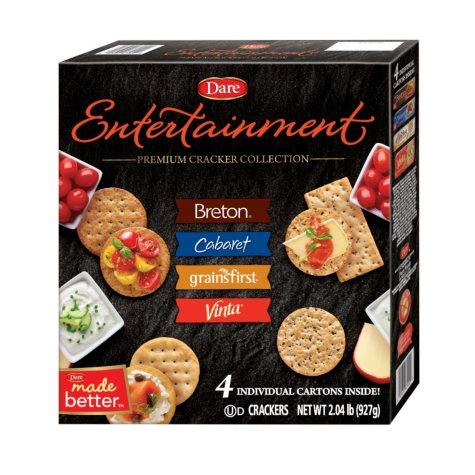 Dare Entertainment Premium Cracker Collection (2.03 lbs., 4 cartons)