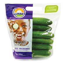 Sunset  Mini Cucumbers (2 lbs.)