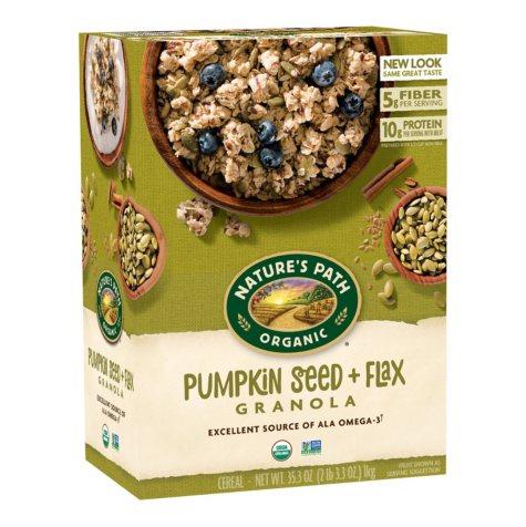 Organic Flax plus Granola