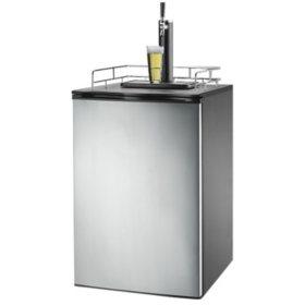 Frigidaire Kegerator Beer Dispenser Refrigerator