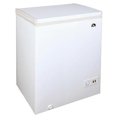 igloo chest freezer 51 cu ft
