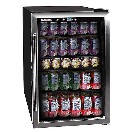 Frigidaire 126-Can Stainless Steel Beverage Center, 4.4 cu. ft.