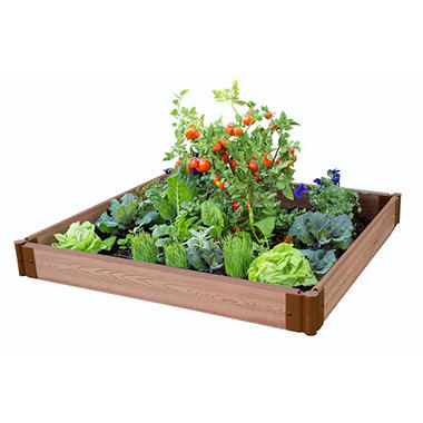 Classic Sienna Raised Garden Bed 4' x 4' x 5.5