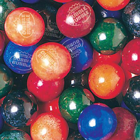 Dubble Bubble PainterZ 24mm Gumballs (850 ct.)
