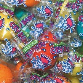 Dubble Bubble Cry Baby Sour Gumballs - 850 count