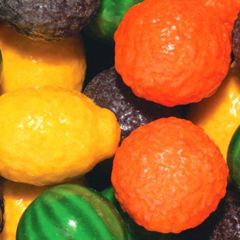 Dubble Bubble Fancy Fruit Gumballs - 24mm - 850 ct.