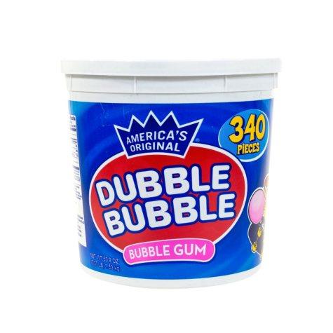 Dubble Bubble America's Original Bubble Gum Tub (340 pcs.)