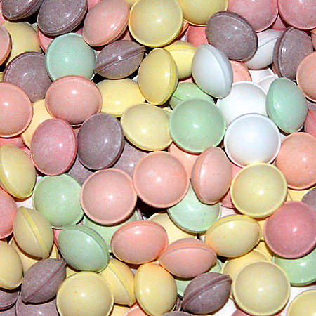Tangy Tarts Uncoated, Assorted Colors (4,115 ct.)