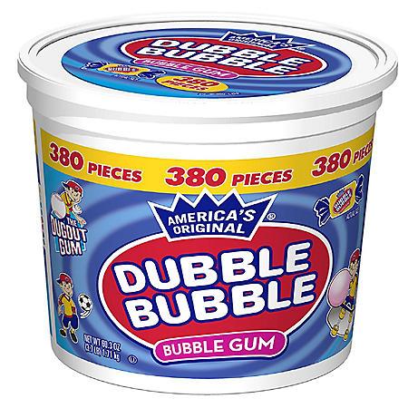 Dubble Bubble Bubble Gum (380 ct.)