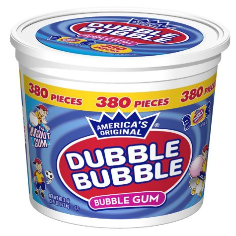 Dubble Bubble Bubble Gum (380 ct.)