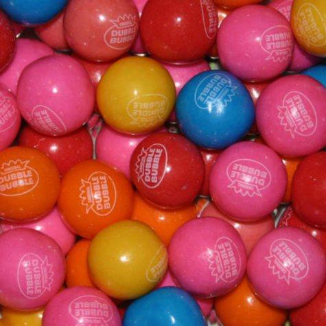 Dubble Bubble Rainbow Flavor Gumballs 23mm - 1,080 ct