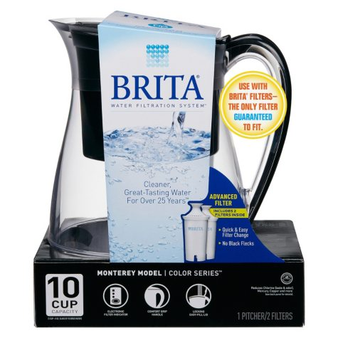 Brita Monterey Water Filter 10-Cup Pitcher