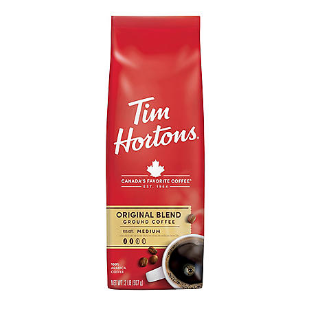 Tim Hortons Ground Coffee, Original Blend (32 oz.)