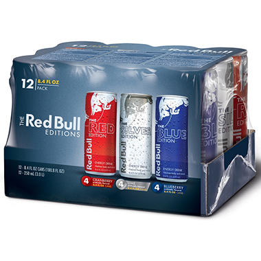 Red Bull Rainbow Edition Variety Pack - 8.4 oz. can - 12 pk.