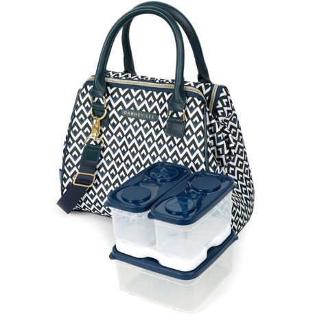 Dabney Lee Insulated Lunch Tote (Assorted Colors)