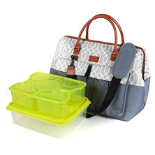 Arctic Zone Insulated Picnic Satchel (Assorted Colors)