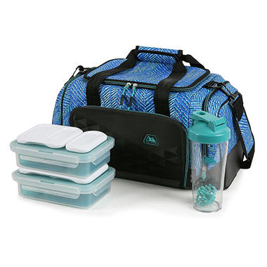 Arctic Zone Portion Control Insulated Duffel Lunch Bag (Assorted Colors)