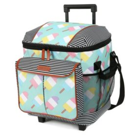 Arctic Zone Insulated Rolling Tote (Assorted Colors)