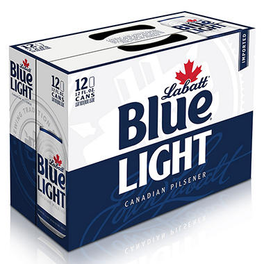 Labatt Blue Light Beer (12 oz. cans, 12 pk.)