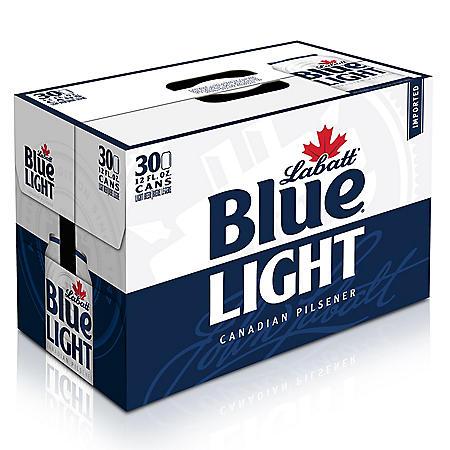 Labatt Blue Light Beer (12 oz. cans, 30 pk.)