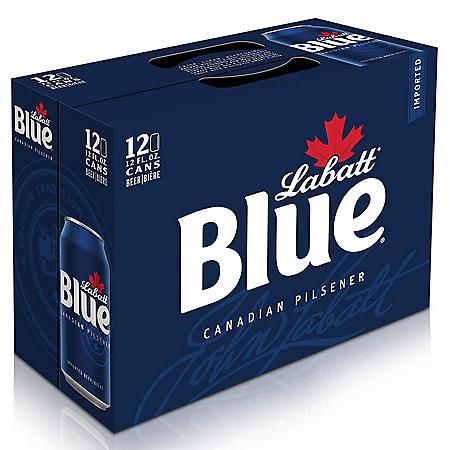 LABATT BLUE 12 / 12 OZ CANS