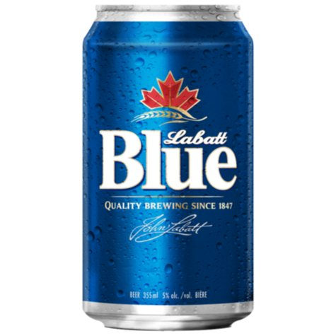 Labatt Blue Beer (12 oz. cans, 24 pk.)