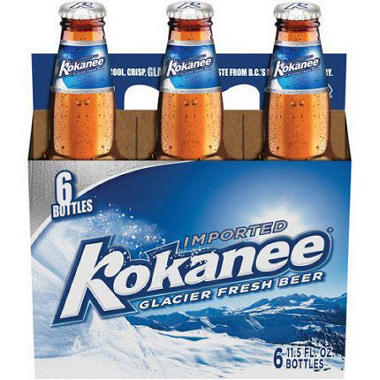 Kokanee Glacier Beer (12 fl. oz. bottle, 6 pk.)