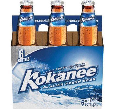 Kokanee Glacier Beer (12 fl. oz. bottle, 6 pk.)