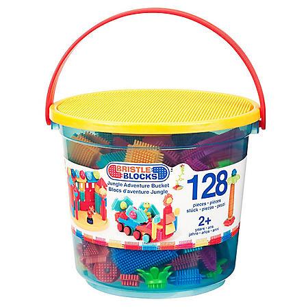 Jungle Adventure Bucket - 128 pieces