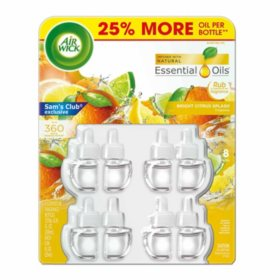 Air Wick Scented Oil 8 Refills, Air Freshner (Choose your scent)
