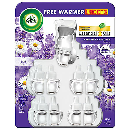 Air Wick Scented Oil 1+9 (Various Scents)