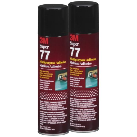 3M™ Super 77™ Multipurpose Spray Adhesive - 2 ct.