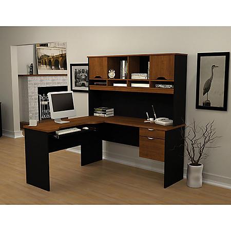 Bestar Innova HomePro 92000 L-Shaped Desk (Various Colors)