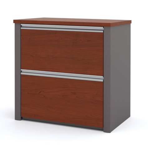 """Bestar Connexion Officepro 93000 30"""" Lateral File Cabinet, Select Color"""
