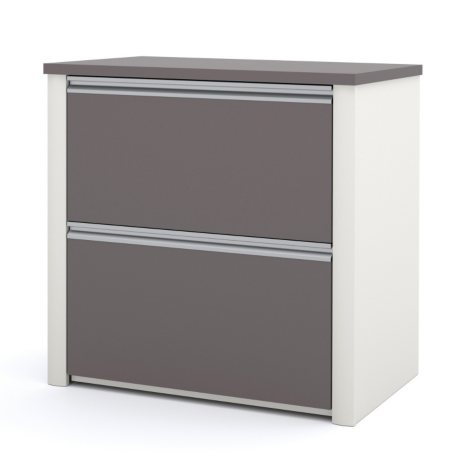 "Bestar Connexion Officepro 93000 30"" Lateral File Cabinet, Select Color"