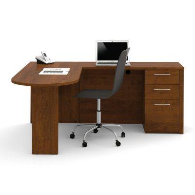 Bestar Embassy OfficePro 60000 L Shaped Desk, Select Color