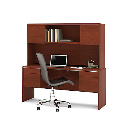 HomePro 47000 Credenza and Hutch