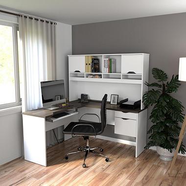 Bestar Innova Homepro 92000 L Shaped Desk Various Colors