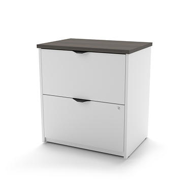 Bestar Innova HomePro 92000 Lateral File, White/Antigua