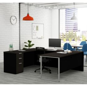 Bestar Pro-Concept  Plus U-Desk, Select Color