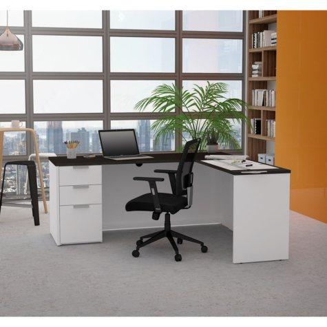 Bestar Pro-Concept  Plus L-Desk, Select Color