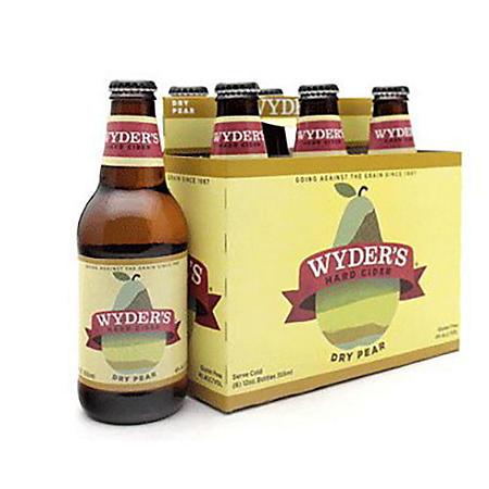WYDERS DRY PEAR 6 / 12 OZ BOTTLES