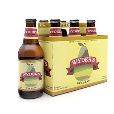 Wyder's Dry Pear Hard Cider (12 fl. oz bottle, 6 pk.)